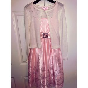 Other - Pink and Silver Girls Dress🎀